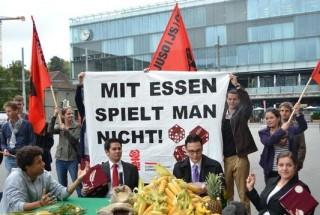 La Svizzera contro  la speculazione finanziaria sugli alimenti