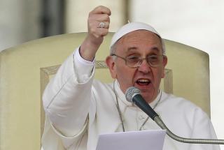Papa Francesco: «Speculazione sul cibo è uno scandalo»